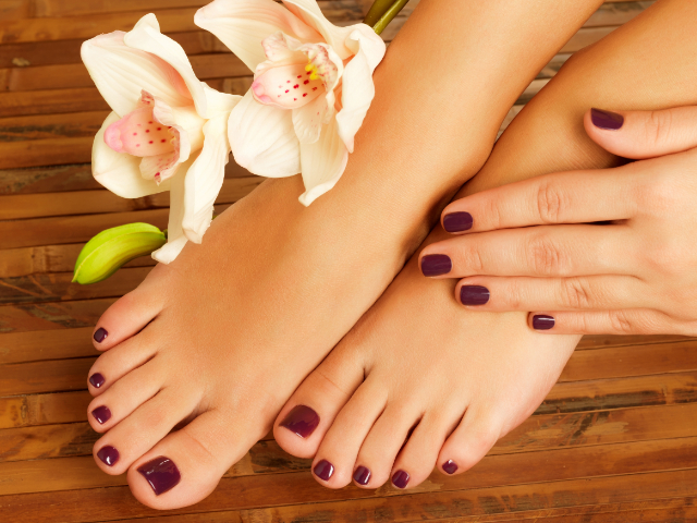 Manicures and Pedicures - Magic Nails Newport South Wales